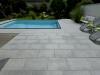 Terrasse in Granit Norikum Grau