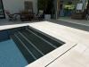 Poolstufen in Nero Assoluto